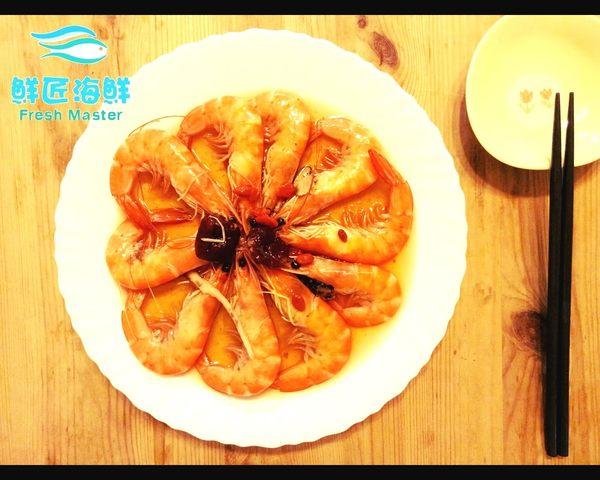 【鮮匠海鮮】【紹興醉蝦(350g,10隻)】解凍即食,冷凍食品真空包裝