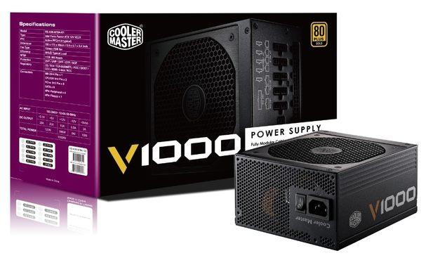 【迪特軍3C】COOLMASTER V 系列 V1000 電源供應器 PC電源供應器 POWER