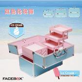 大號化妝箱專業手提多層 美甲彩妝紋繡工具箱初學者 帶鎖 GB2872『MG大尺碼』