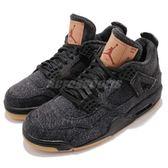 Nike Air Jordan 4 Retro Levi's NRG 黑 牛仔 聯名款 AJ4 喬丹 4代 男鞋【PUMP306】 AO2571-001