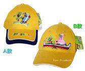 【卡漫城】 海綿寶寶 兒童 帽子 只剩B款 ㊣版 划船 Spongebob 台灣製 旅行 遮陽帽 棒球帽 派大星