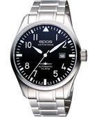 epos Pilot's 飛行員戰鬥機機械腕錶-黑/43mm 3401.132.20.35.30
