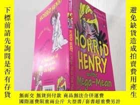 二手書博民逛書店horrid罕見henry and the mega mean time machine : 可怕的亨利和超級平均