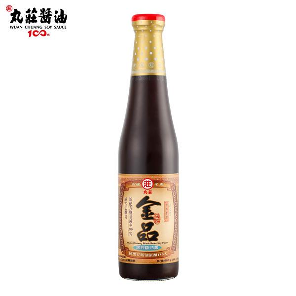 丸莊.金品黑豆蔭油膏500g/瓶 (共2瓶)﹍愛食網