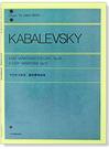 鋼琴譜 P717.卡巴烈夫斯基 簡易變奏...