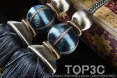 寶澤 歐式雙球窗簾綁球掛球流蘇配件窗簾扣綁帶綁繩裝飾吊穗「Top3c」