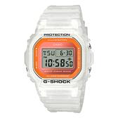 CASIO 卡西歐手錶專賣店 G-SHOCK DW-5600LS-7 夏季流行電子男錶 防水200米 DW-5600LS