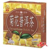 天仁袋茶防潮包-菊花普洱2g*500入【愛買】