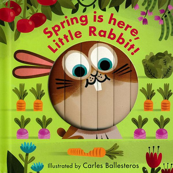 Little Faces:Spring Is Here,Little Rabbit! 春天來了變臉操作書