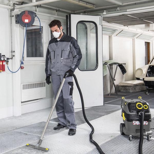 《搭贈玻璃清潔機》Karcher NT 30/1 Tact L / NT30 德國凱馳 真空式吸塵器 (科技園區無塵室工地最愛用)
