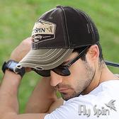 棒球帽子-街頭潮流防曬運動帽透眼網帽卡車帽15SS-C009 FLYSPIN菲絲品