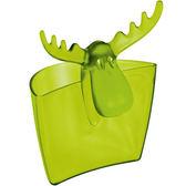 《KOZIOL》麋鹿茶包架(透綠)
