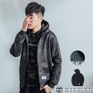 【OBIYUAN】韓國製 迷彩內絨毛外套/專櫃連帽抽繩連帽外套 【BK08】