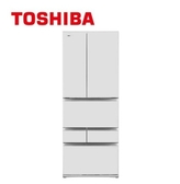 可退稅 基本安裝+舊機回收 TOSHIBA 東芝 509L GR-ZP510TFW(UW) 玻璃白 無邊框玻璃六門變頻電冰箱