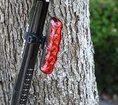 永久五眼尾燈自行車燈尾燈山地車尾燈LED騎行裝備自行車配件