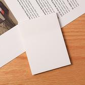 便利貼 N次貼 便條紙 可撕便簽 大長方 留言空白紙 便籤紙 重點標籤 透明便利貼【K078】生活家精品