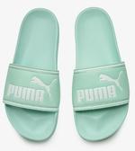 PUMA Leadcat FTR男女款大LOGO淺綠色拖鞋-NO.37227603