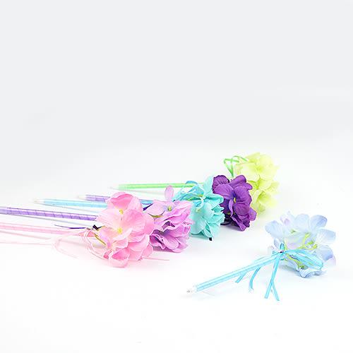 幸福婚禮小物❤繡球花原字筆❤二次進場婚禮小物/簽名筆