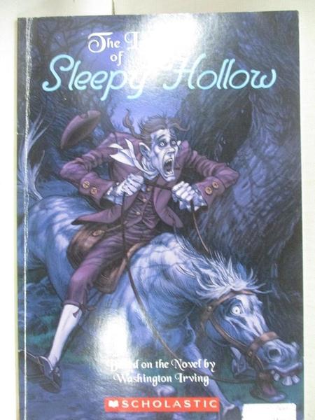 【書寶二手書T1/原文小說_AWX】The Legend of Sleepy Hollow(斷頭谷) (書+CD)_Washington Irving