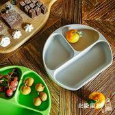 兒童餐盤美國Bumkins硅膠分格餐盤吸盤輔食碗一體式寶寶學吃飯嬰兒童餐具 全館免運