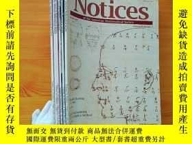 二手書博民逛書店Notices罕見2007年 第3、4、5、6、7、11期 共6本合售 大16開Y10893 Notices