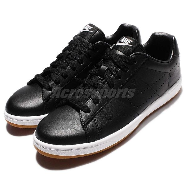【五折特賣】Nike 休閒鞋 W Tennis Classic Ultra LTHR 黑 白 膠底 網球鞋 女鞋 運動鞋【PUMP306】725111-002