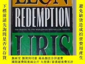 二手書博民逛書店英文原版罕見Redemption by Leon Uris 著Y