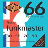 小叮噹的店 英國ROTOSOUND FM66 (30-90) 電貝斯弦 FUNKMASTER 不銹鋼 旋弦公司貨