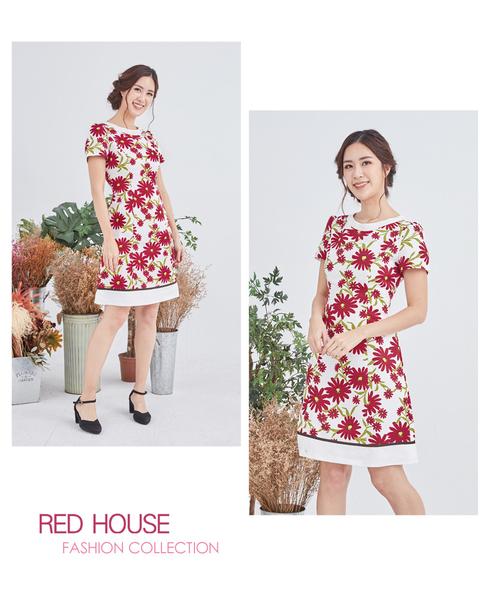 【RED HOUSE 蕾赫斯】小雛菊洋裝(共2色)