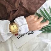 別樣復古懷舊式韓風CHIC手錶女學生鋼帶復古金色鏈條文藝百搭腕錶  深藏blue