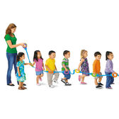 散步手拉繩 兒童幼兒教具教學道具設備感官感覺統合訓練運動平衡手眼協調遊戲