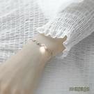 銀幾何漸凍人手鏈女網紅心電圖小眾設計森系個性簡約手飾日韓版wl5818【3C環球數位館】