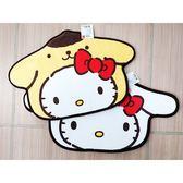Hello Kitty & 布丁狗/Hello Kitty & 大耳狗 造型地墊(1入) 款式可選【小三美日】
