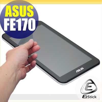 【EZstick】ASUS FonePad 7 FE170 (K012) 專用 靜電式平板LCD液晶螢幕貼 (可選鏡面防汙或高清霧面)