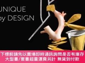 二手書博民逛書店Unique罕見By Design: Contemporary Jewelry From The Donna Sc