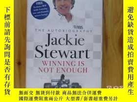 二手書博民逛書店Jackie罕見Stewart- WINNING IS NOT