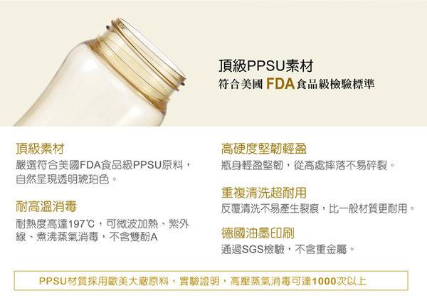 【奇買親子購物網】小獅王辛巴simba PPSU自動把手滑蓋杯240ml(豹紋/迷彩/櫻花)