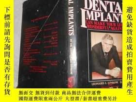 二手書博民逛書店DENTAL罕見IMPLANTSY171502