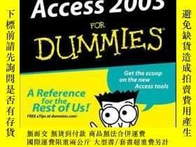 二手書博民逛書店Access罕見2003 For DummiesY410016 John Kaufeld ISBN:9781