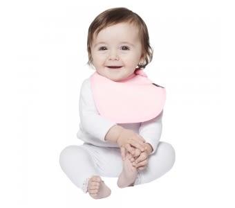 紐西蘭 Mum 2 Mum 機能型神奇口水巾圍兜-初生款-粉紅 吃飯衣 口水衣 防水衣
