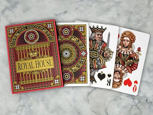 【USPCC撲克】Deck of Royal House Playing Cards