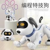 樂能仿生智能機器狗電動會走倒立兒童玩具遙控機器人男孩玩具狗狗 NMS名購居家