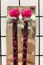 【震撼精品百貨】Hello Kitty 凱蒂貓~三麗鷗日本長筷子-黑*21239