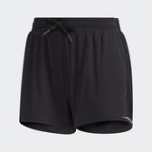 ADIDAS 3-STRIPES 女裝 短褲 慢跑 訓練 健身 舒適 無內襯 黑【運動世界】GJ9030
