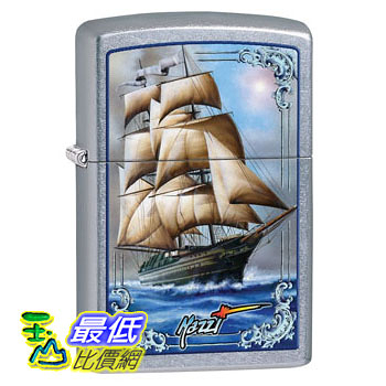 [104 美國直購] Zippo Mazzi Tall Ship Pocket Lighter 打火機