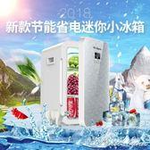 小冰箱迷你小型家用車載宿舍學生寢室兩用單門式制凍冷藏二人世界 igo 范思蓮恩