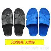 防靜電拖鞋SPU藍色無塵室防滑黃標車間ESD食品廠電子廠男夏季白女 LannaS