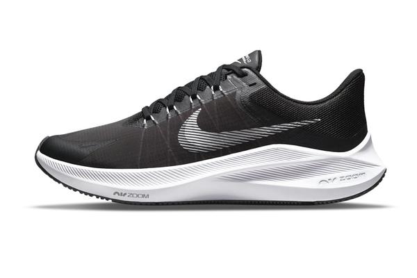 NIKE系列-ZOOM WINFLO 8 男款黑色運動慢跑鞋-NO.CW3419006