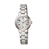【Citizen星辰】xC光動能電波對時時尚氣質腕錶-氣質銀/ES9434-53X/台灣總代理公司貨享兩年保固