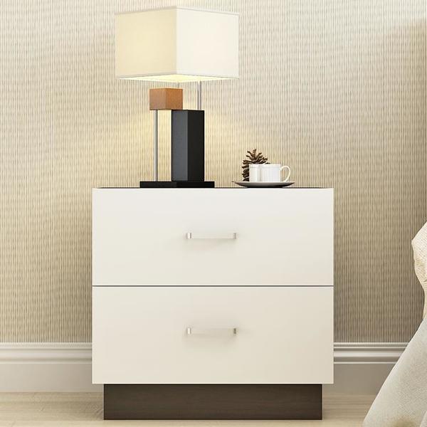 簡易床頭櫃現代簡約收納小櫃子床櫃組裝儲物櫃臥室宿舍組裝床邊櫃 【618特惠】
